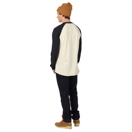 Burton Analog Agonize Long Sleeve Base Layer T shirt rear view