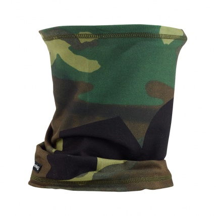 Analog Icon Neck Warmer in Surplus Camo