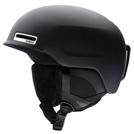 Smith Maze snowboard helmet in Matte Black