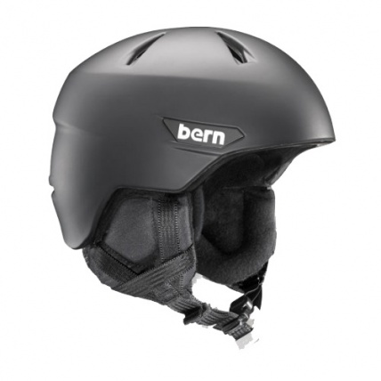 Bern Weston Zipmould Snow Helmet in Black