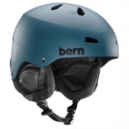 Bern Macon EPS Helmet in Matte Muted Teal
