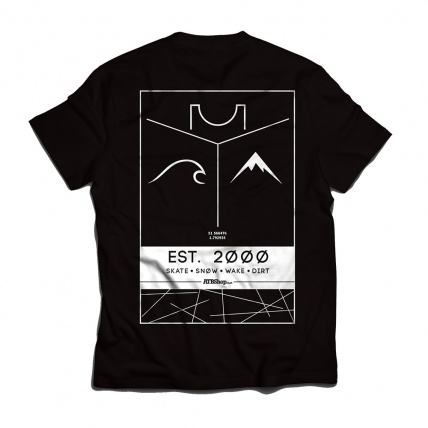 ATB Established T-Shirt Rear