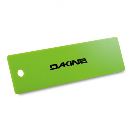 Dakine 10 Inch Wax Scraper Snowboard Tuning Green