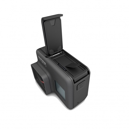 Hero5 Black Rechargeable Battery Inside Camera View