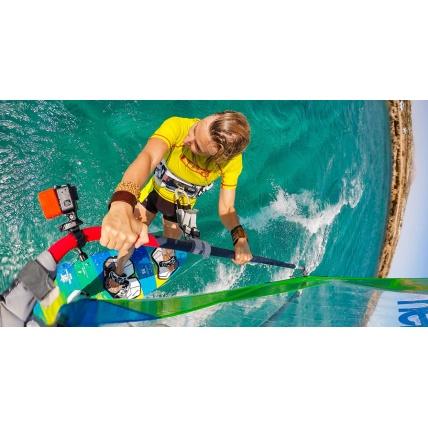 GoPro Floaty windsurfing
