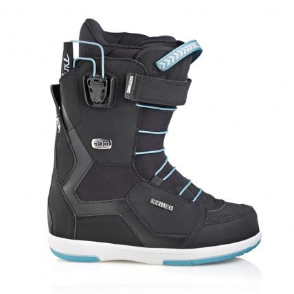 Deeluxe ID 6.2 Lara PF Womens Snowboard Boot in Black side view