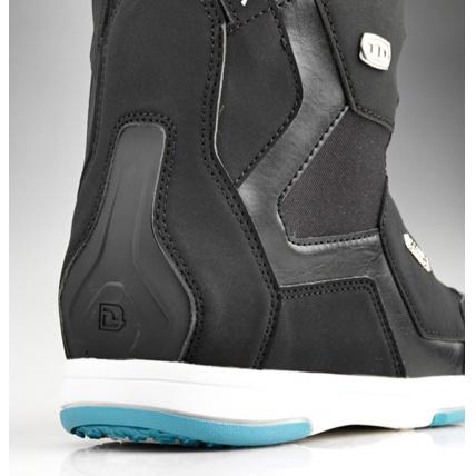 Deeluxe ID 6.2 Lara PF Womens Snowboard Boot in Black heel support