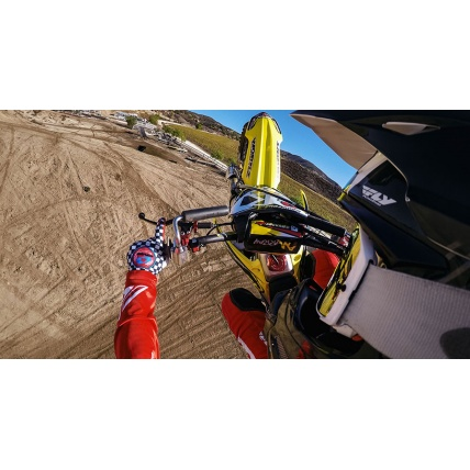 GoPro Hero Session Low Profile Side Helmet Mount Motocross