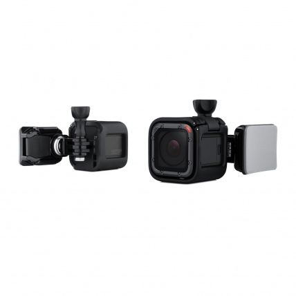 GoPro Hero Session Low Profile Side Helmet Mount full view