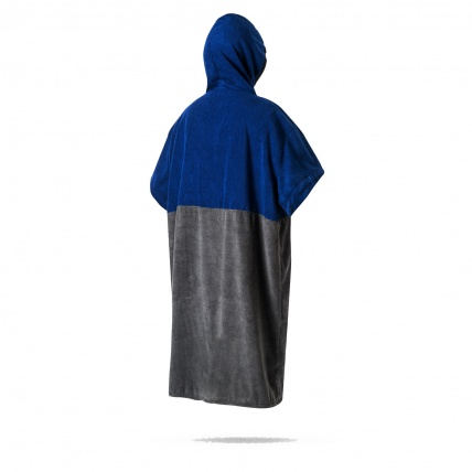 Mystic Navy Poncho rear view