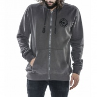 Mystic - Dispertion Dark Grey Hooded Sweatshirt