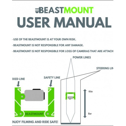 Beast Mount Kitesurfing GoPro Line Mount Manual