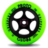 Proto - Gripper 110mm Neon Green Black Scooter Wheel