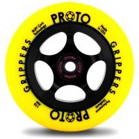 Proto - Gripper 110mm Neon Yellow Black Scooter Wheel