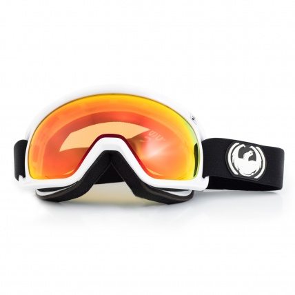 Dragon D3 Inverse Red Ion Snowboard Goggles front view