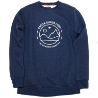 Capita - Blue Crew Fleece Sweatshirt