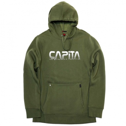 Capita Exploration Hoodie in Military Green
