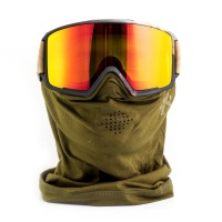 Anon - M3 Polarias Red SolX MFI Snowboard Goggles