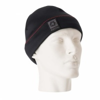 Mystic - Neoprene Beanie in Black