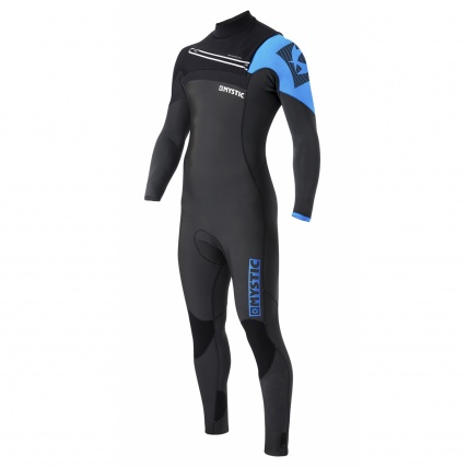 Mystic Majestic 5/3mm FZ Westsuit in Blue front view