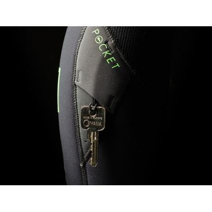Mystic Majestic 5/3mm FZ Westsuit in Blue  key pocket