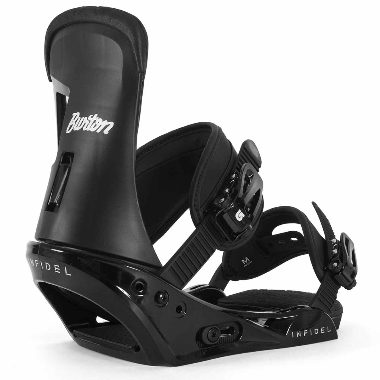 Burton Ripcord Snowboard With Infidel Bindings Package