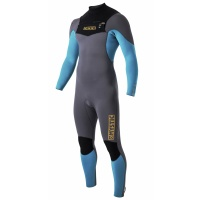 Mystic - Star 5/4 Front Zip Winter Wetsuit in Orange