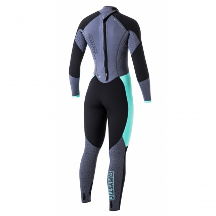 Mystic Dutchess 5/4mm Womens BZ Winter Wetsuit critical stretch taping back