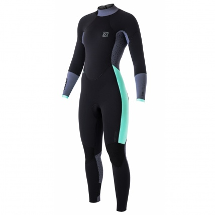Mystic Dutchess 5/4mm Womens BZ Winter Wetsuit critical stretch taping front