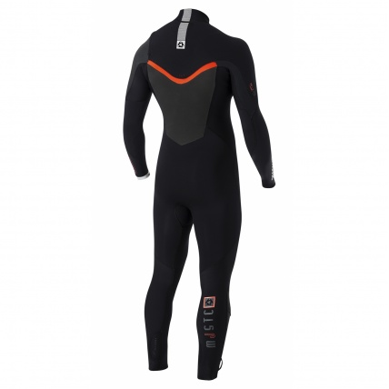 Mystic Majestic 5/3mm FZ Westsuit in Black back
