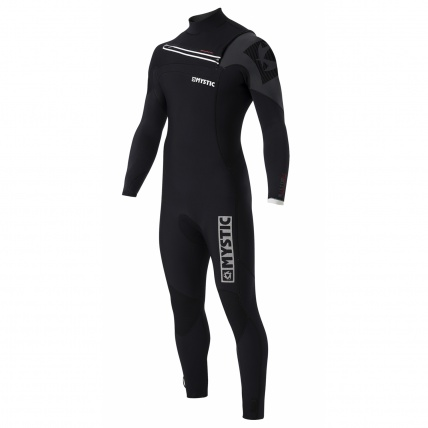 Mystic Majestic 5/3mm FZ Westsuit in Black front