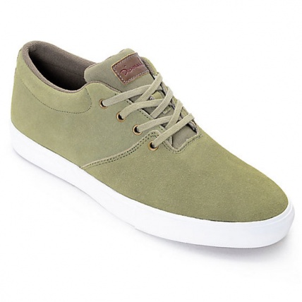Diamond Torey Shoes in Olive