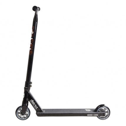 District C-Series C050  Black Scooter Side