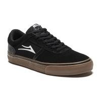 Lakai - Vincent Skate Shoes Black/Gum Suede