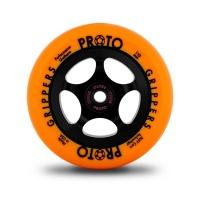 Proto - Gripper 110mm Black PU Orange Core Wheel