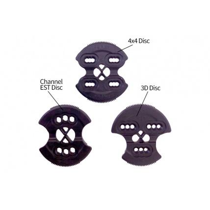 Different kinds of reflex binding discs