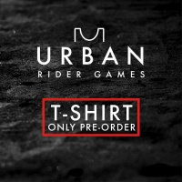 ATBShop Skatewarehouse - Urban Rider Games 2020 T-Shirt Only Pre-Order Ticket