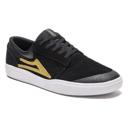 Lakai Griffin XLK Black and Gold front