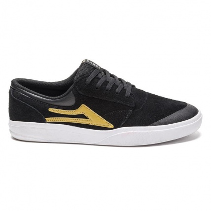 Lakai Griffin XLK Black and Gold side