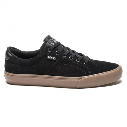 Lakai Flaco in Black Gum Suede side