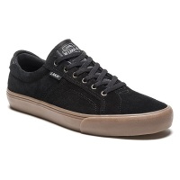 Lakai - Flaco in Black Gum Suede
