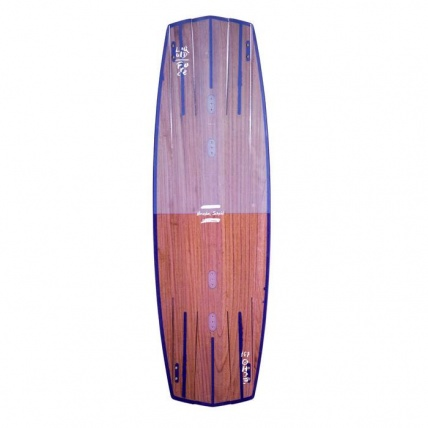Liquid Force Echo Wake Style Kitesurf Board 137 x 42cm purple