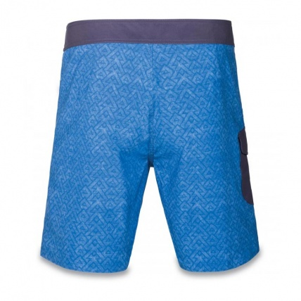 Dakine Broadhead Board shorts in Tabor Blue rear view