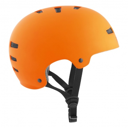 TSG Evo Helmet in Satin Orange Side 2