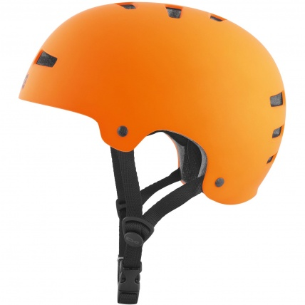 TSG Evo Helmet in Satin Orange Side1