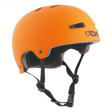 TSG Evo Helmet in Satin Orange