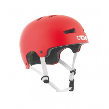 TSG Evo Helmet in Satin Fire Red