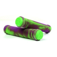 Root Industries - Mix Scooter Grips in Green and Purple