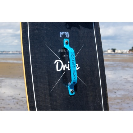 Liquid Force Carbon Drive Kitesurf Board top graphic and handle