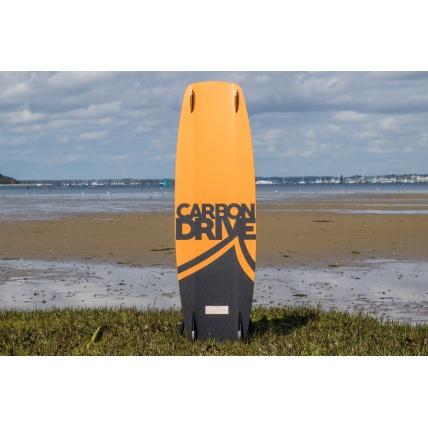 Liquid Force Carbon Drive Kitesurf Board bottom